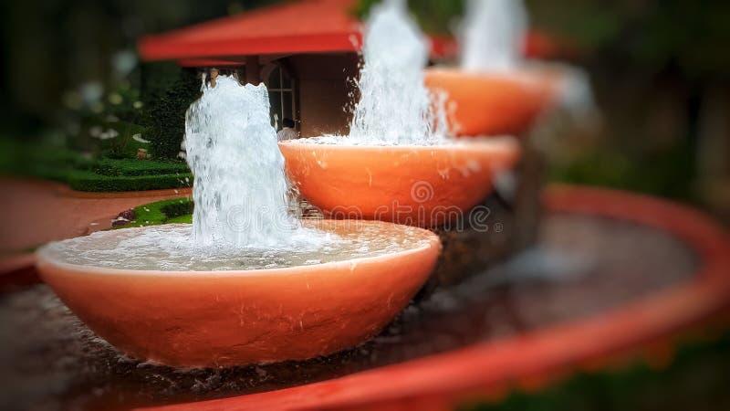 L'eau sautante photos libres de droits