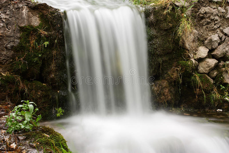 L'eau soyeuse image libre de droits