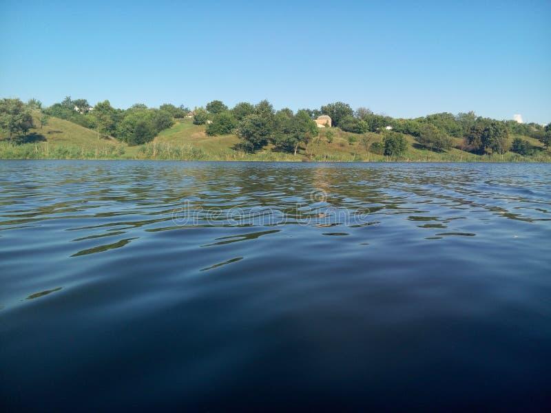 L'eau tranquille image stock