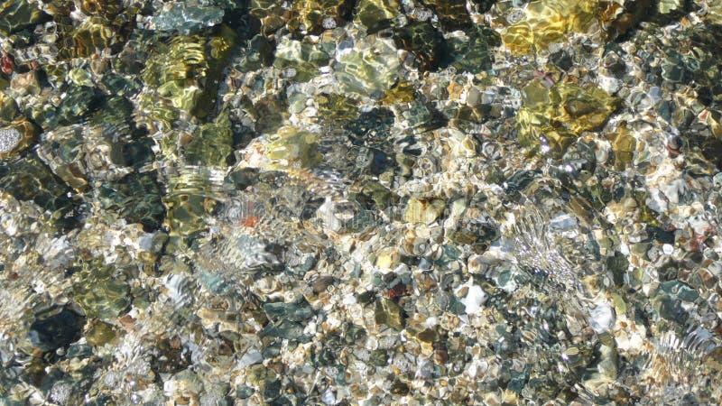 L'eau transparente photographie stock