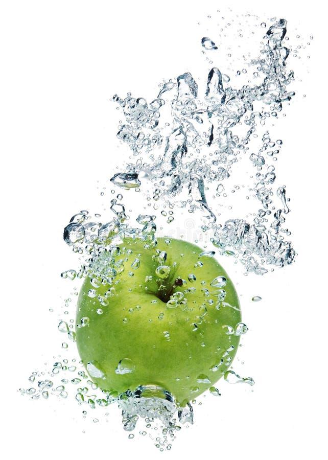 l'eau vert pomme photos libres de droits