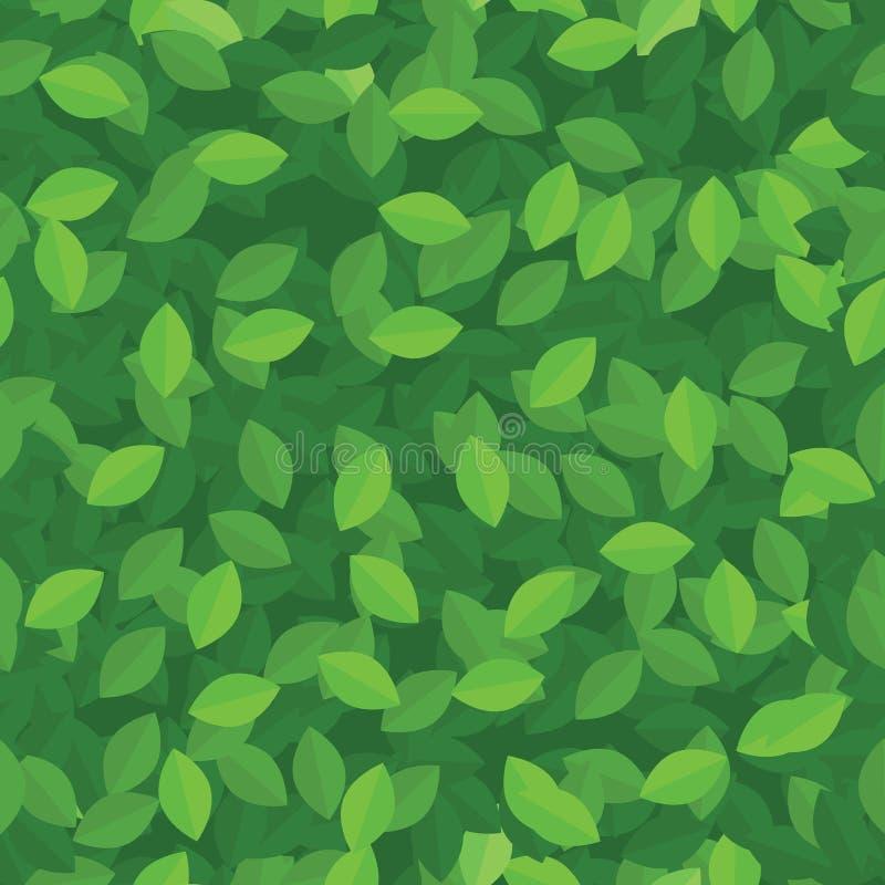 L'eco vert laisse le fond sans joint illustration libre de droits