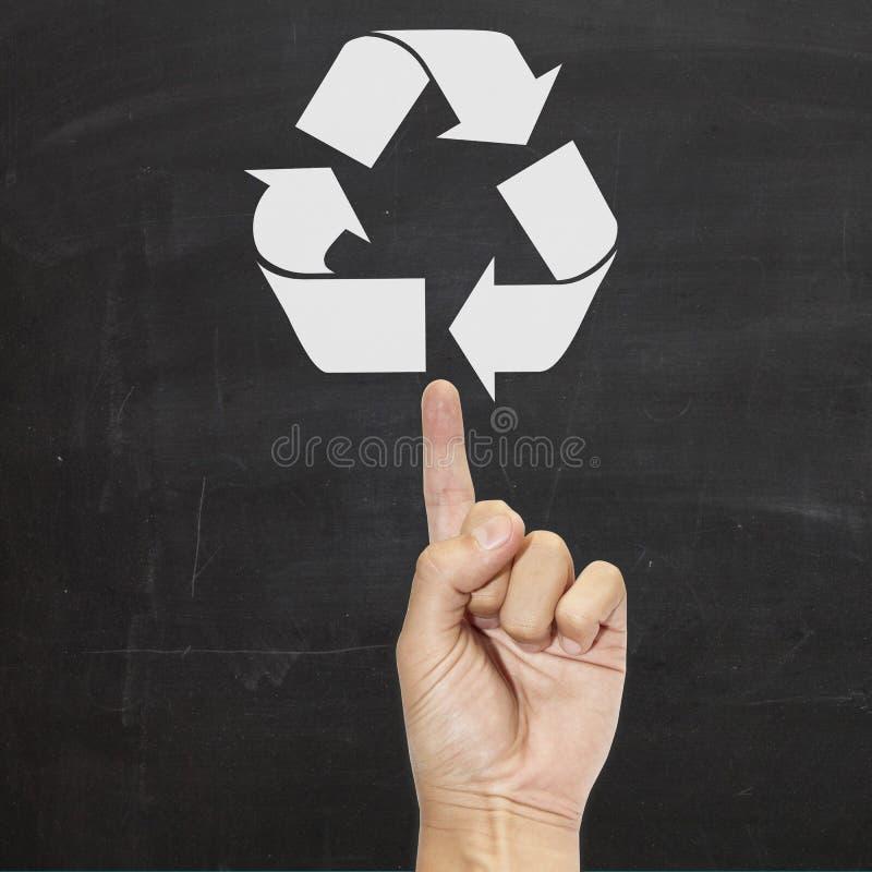 L'ecologia di ricicla immagine stock