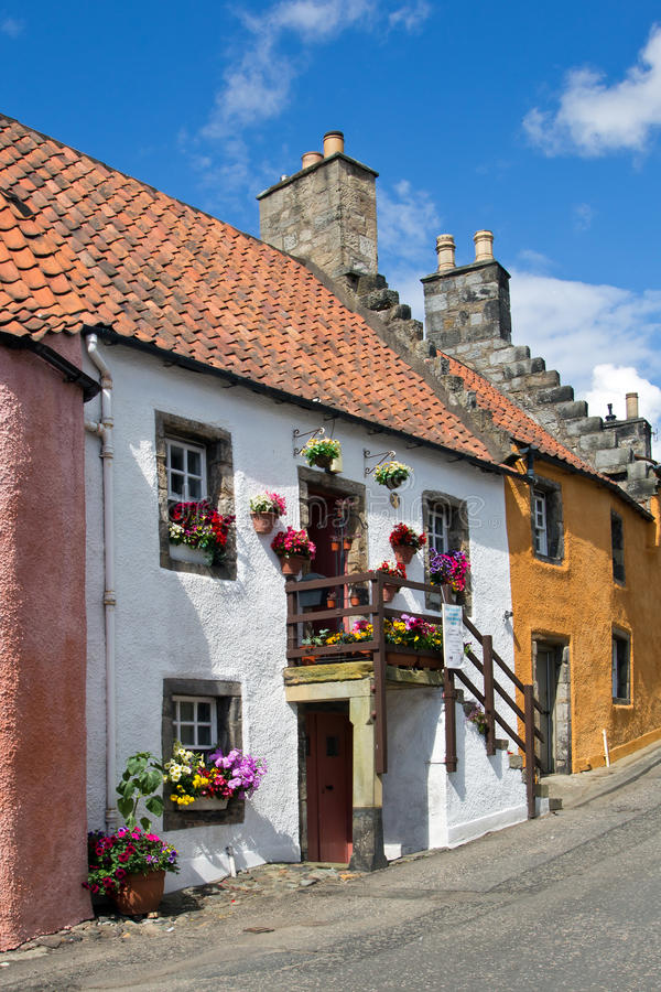 L'Ecosse, culross photographie stock