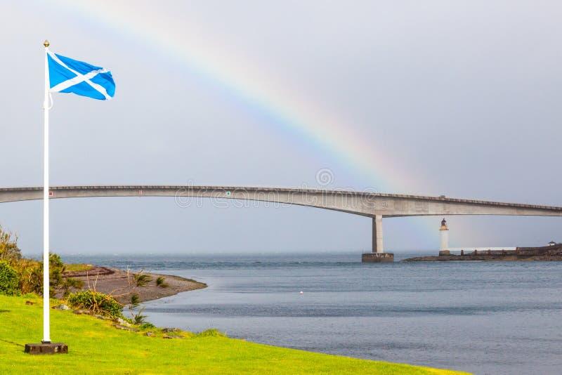 L'Ecosse - Skye Bridge images libres de droits
