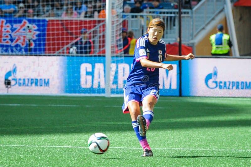 L'Ecuador contro il Giappone Coppa del Mondo della FIFA Women's fotografie stock