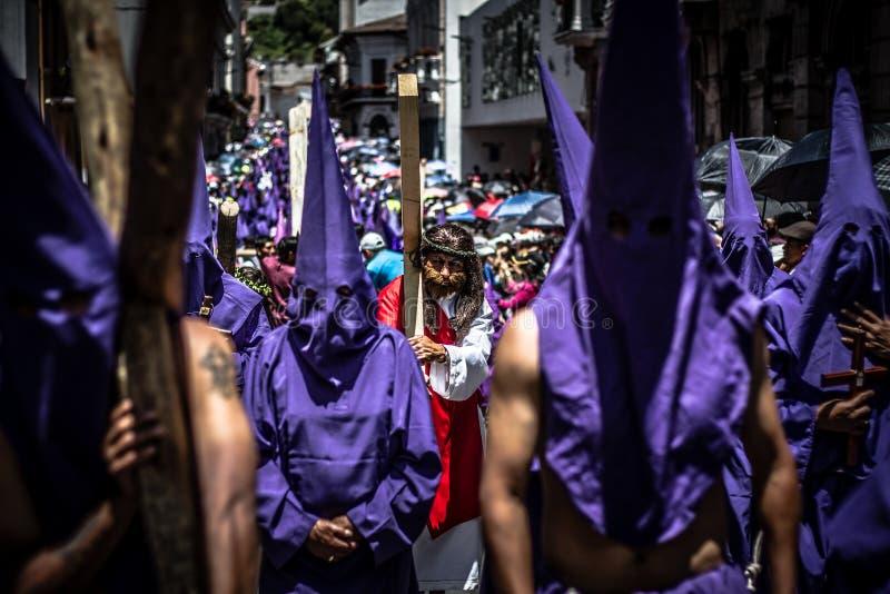L'Ecuador Pasqua fotografie stock libere da diritti