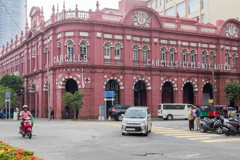 L'edificio di Cargill, Colombo fotografia stock libera da diritti