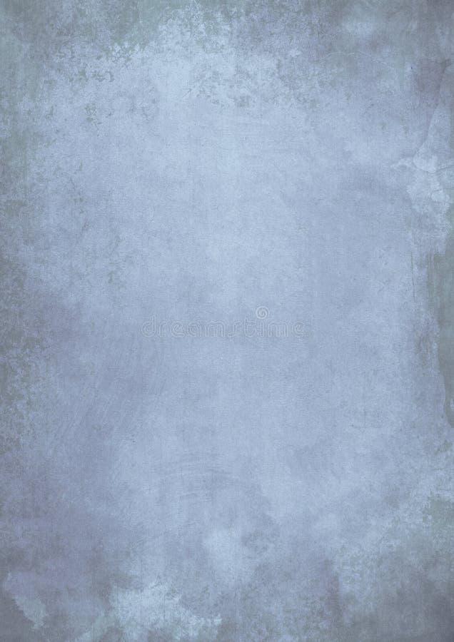 L'effet grunge sale bleu de gradient sale a donné au fond une consistance rugueuse image stock
