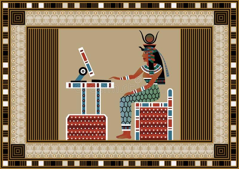 L'Egitto 10 illustrazione di stock
