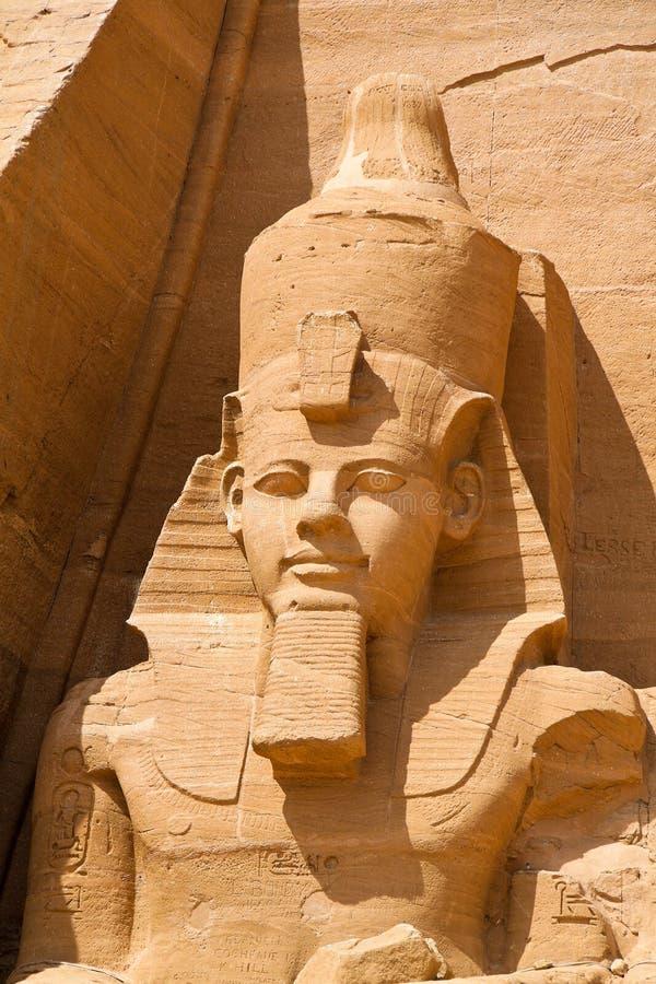 L'Egitto, Abu Simbel, fotografia stock