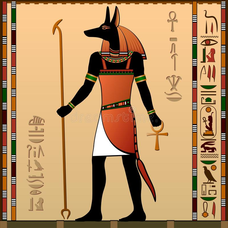 L'Egitto antico illustrazione di stock