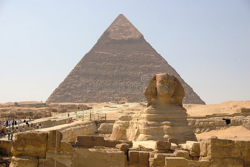 L'Egitto - Giza fotografie stock