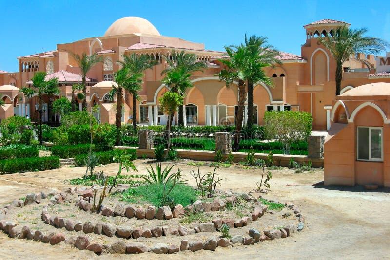 L'Egitto - hotel fotografie stock