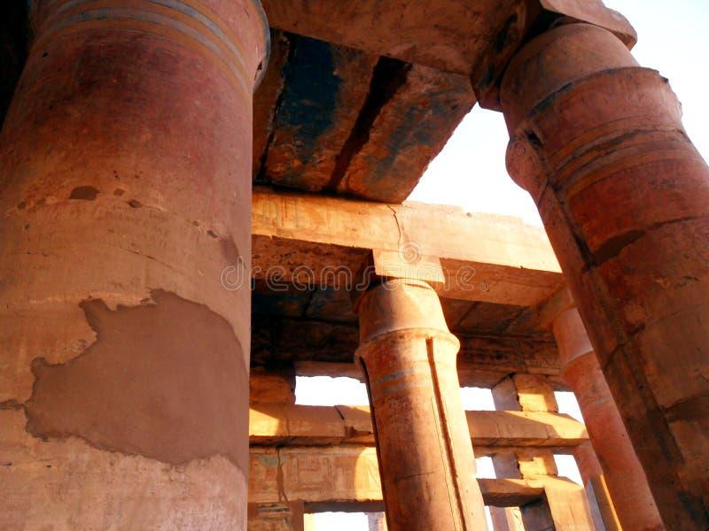 L'Egitto, Nord Africa, tempio di Luxor, Karnak fotografie stock