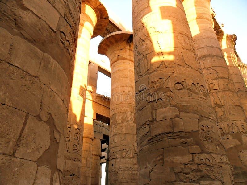 L'Egitto, Nord Africa, tempio di Luxor, Karnak immagine stock