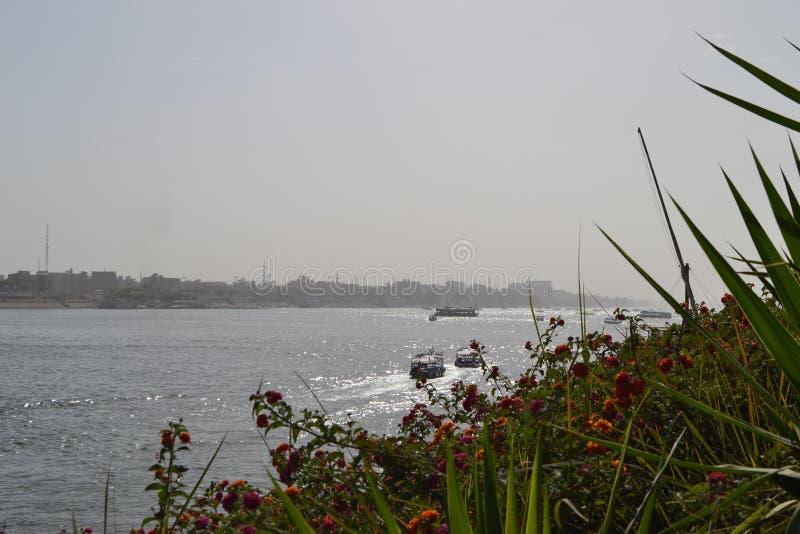 L'Egypte, Louxor, le Nil photographie stock