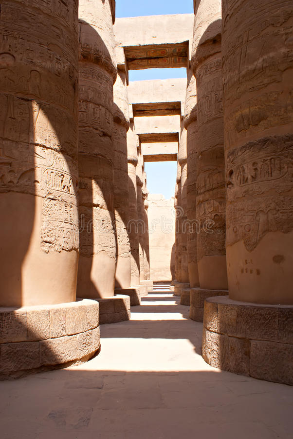 l'Egypte Luxor photo stock