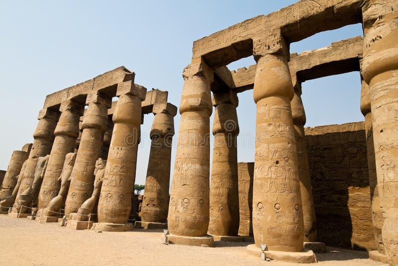 l'Egypte, Luxor, Amun photo stock