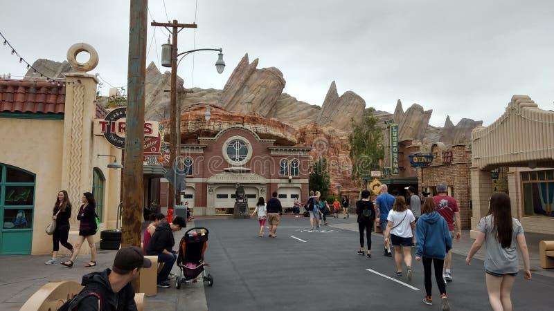 L ein Disneyland stockfotografie