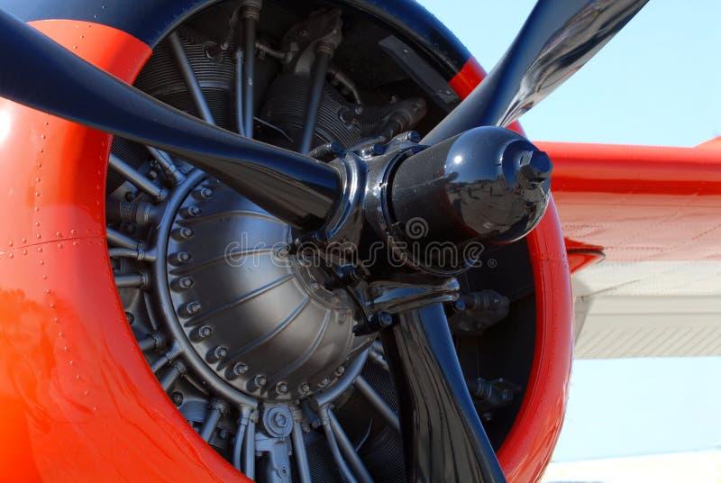 L'elica di un aeroplano della seconda guerra mondiale immagine stock libera da diritti