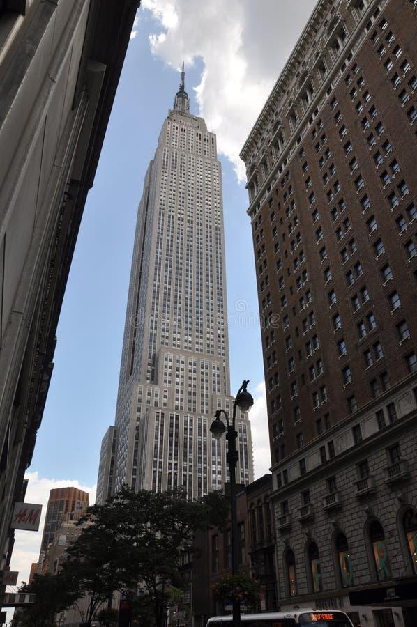 L'Empire State Building fotografia stock libera da diritti