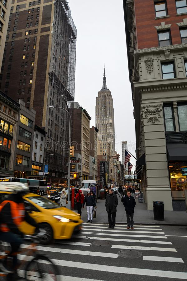 L'Empire State Building - New York image stock