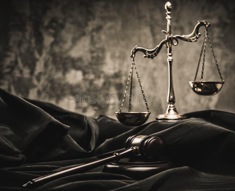 L'encore-vie du manteau du juge photos stock