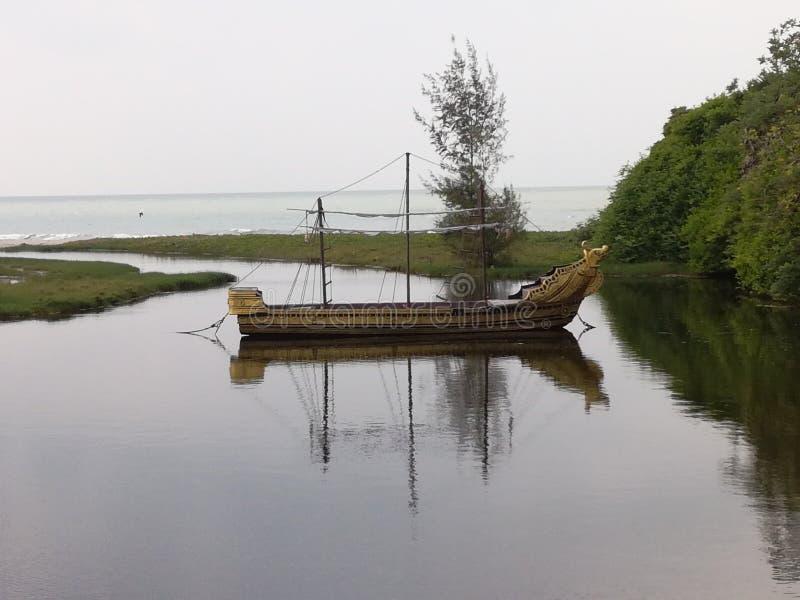 L'endroit de la lagune, photographie stock libre de droits