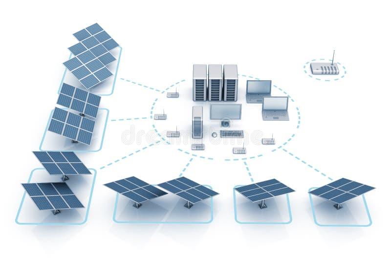 L'energia risparmia illustrazione vettoriale