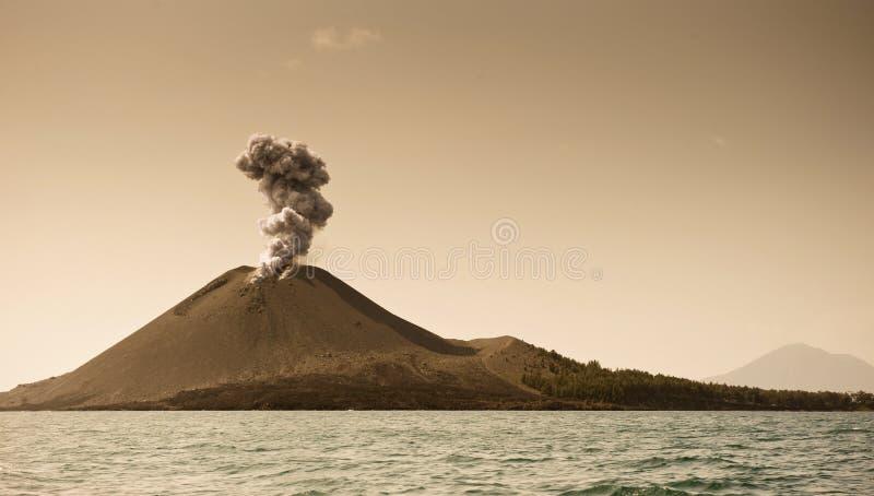 L'enfant de Krakatoa image stock