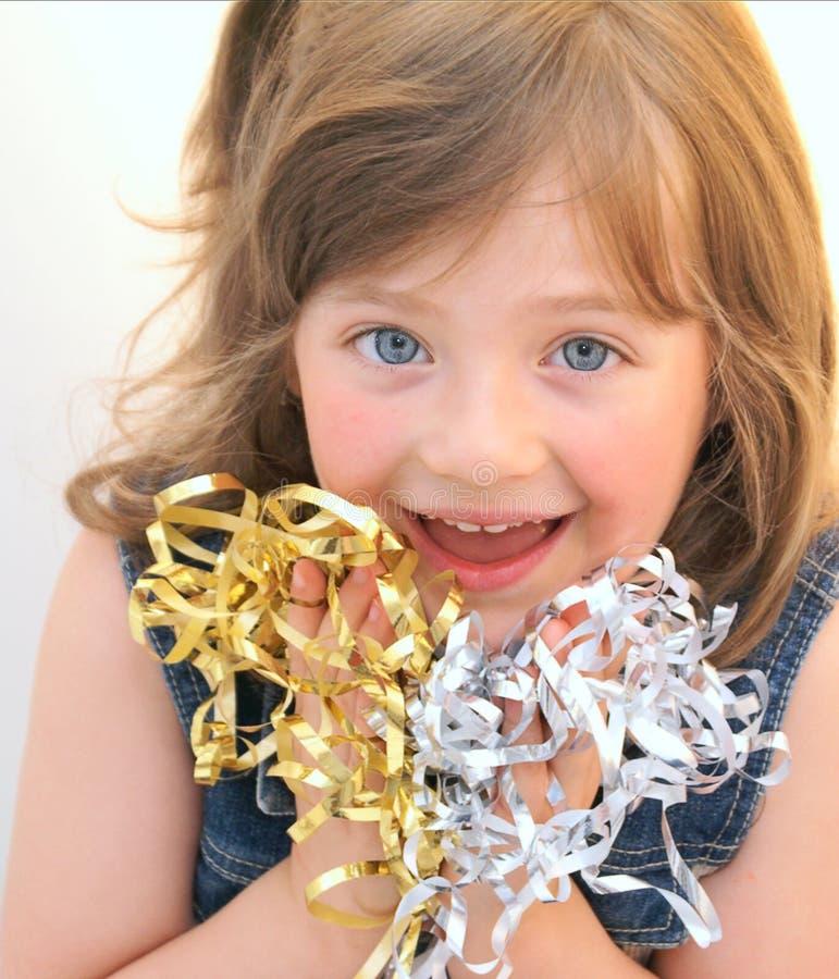L'enfant heureux de visage. photo libre de droits