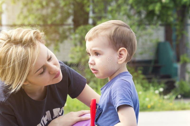 L'enfant pleure de l'insulte photographie stock libre de droits
