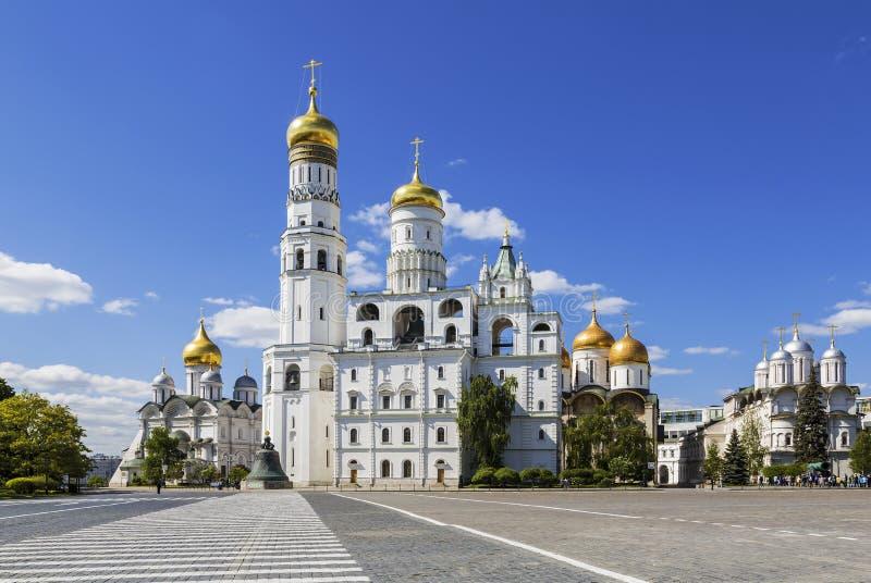 L'ensemble architectural de Moscou Kremlin photographie stock