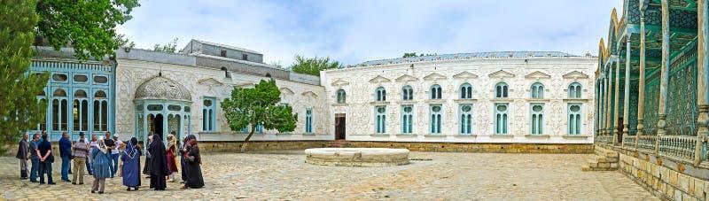 L'ensemble architectural du palais de l'émir de Boukhara image stock