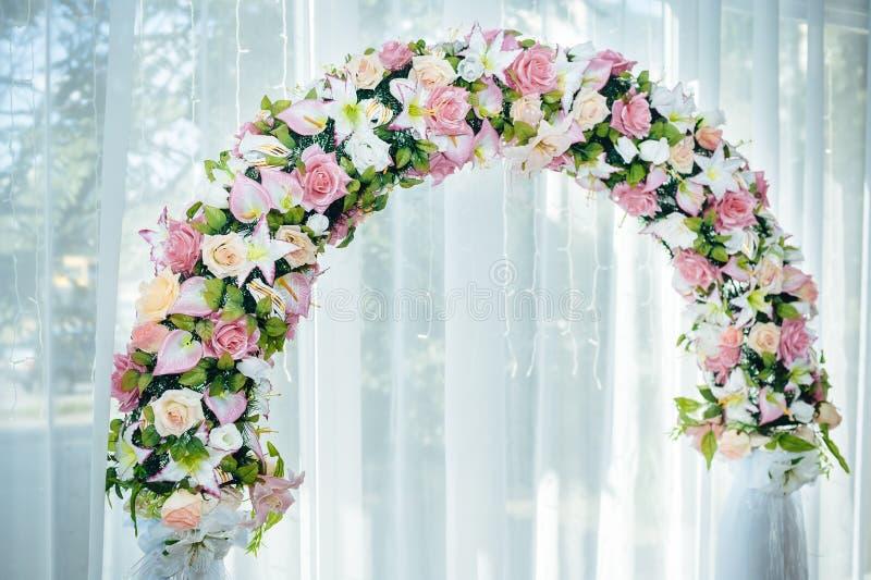 L'ensemble décoré de table pour épouser ou des autres a approvisionné photos libres de droits