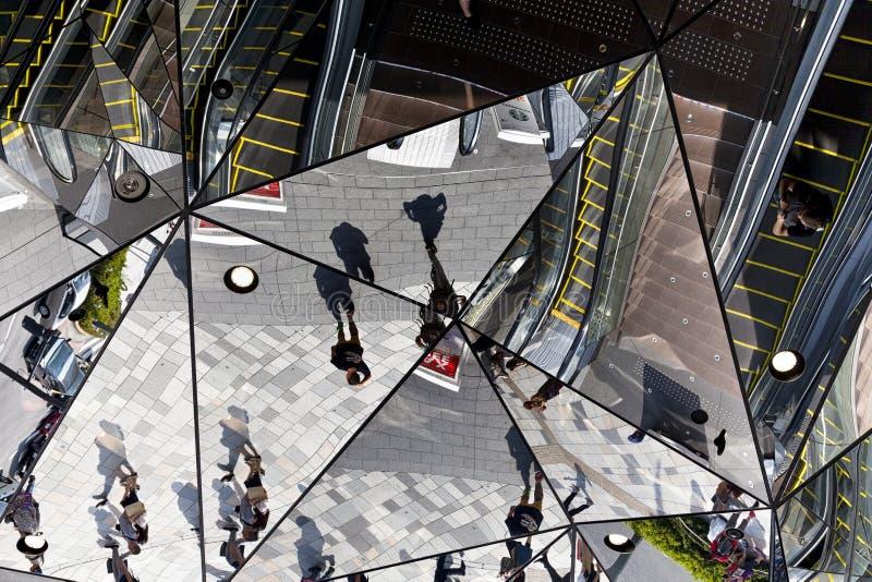 L'entrée du bâtiment de plaza, plaza Omohara de Tokyu est un magasin de parc à thème de mode pour la mode la plus à la mode situé photos libres de droits