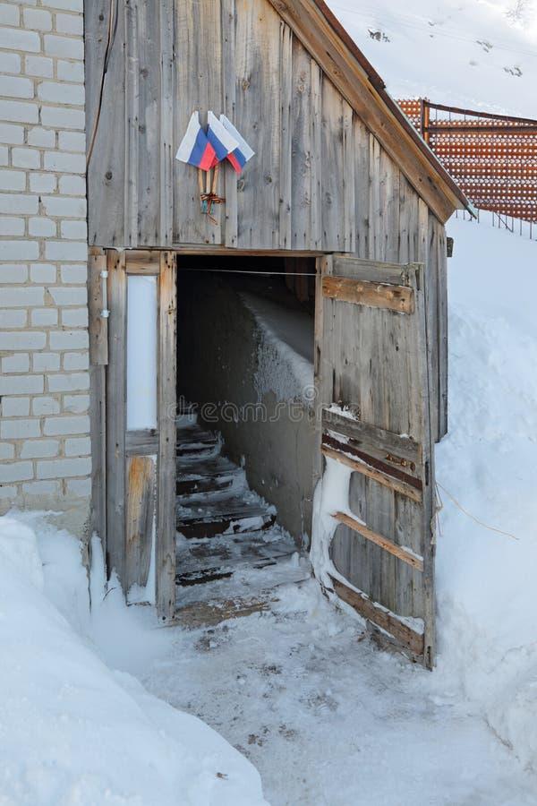 L'entrata di una casa immagini stock libere da diritti