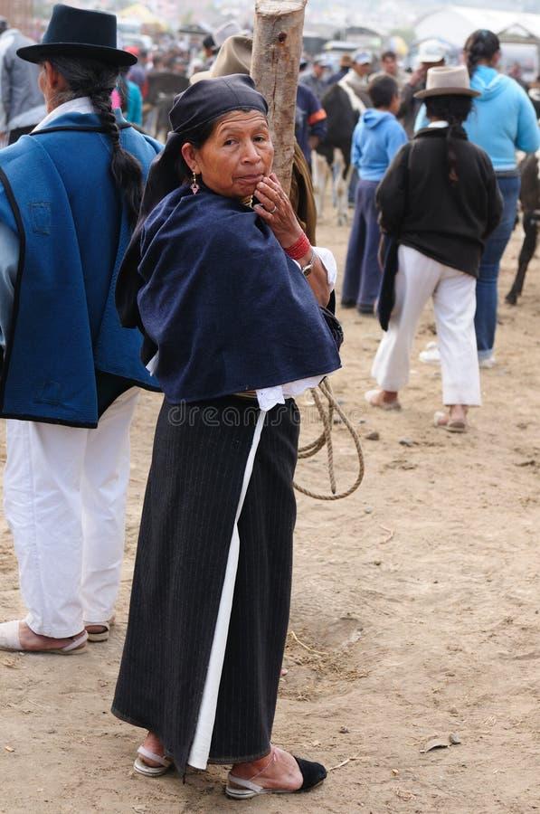 l'Equateur, femme latin ethnique photos libres de droits