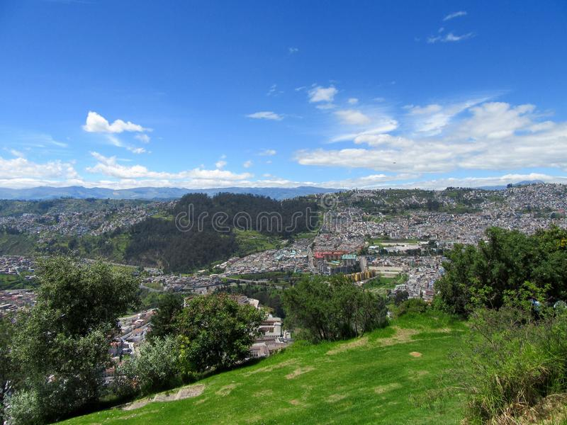 l'Equateur Quito photo libre de droits