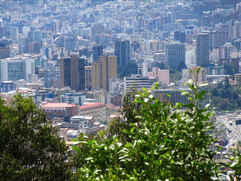 l'Equateur Quito images libres de droits