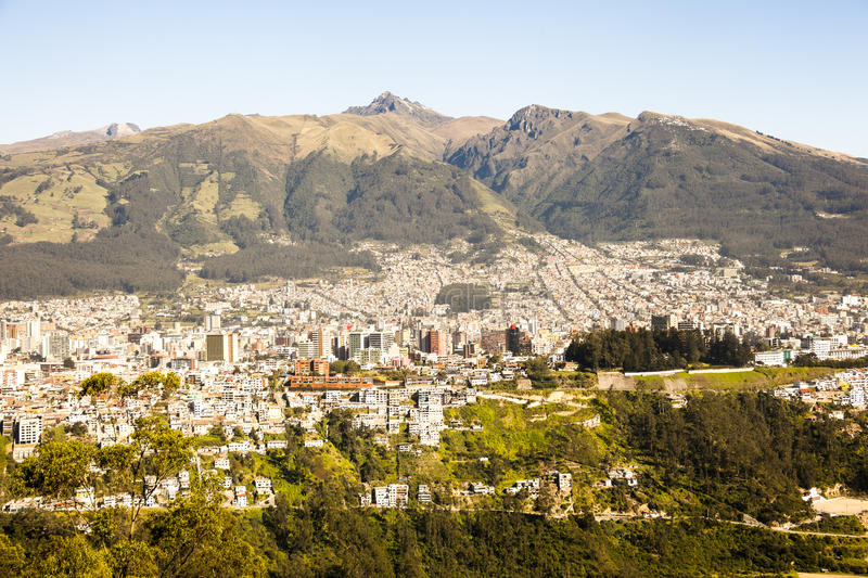 l'Equateur Quito photo stock