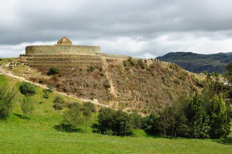 l'Equateur, site d'Inca d'Ingapirca photos stock