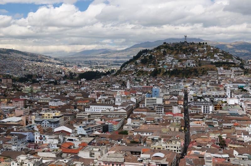 l'Equateur, vue sur Quito image libre de droits