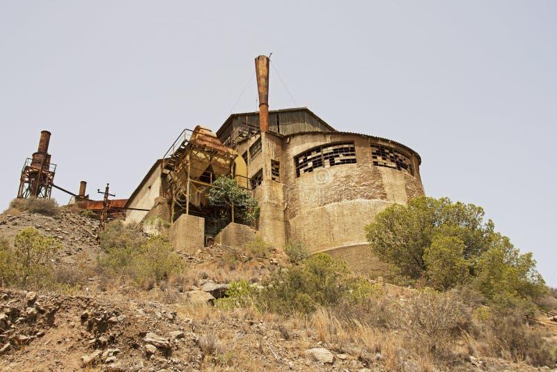 L'eredità industriale della Spagna fotografia stock libera da diritti