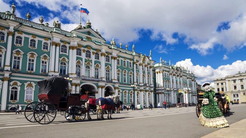 L'ermitage à St Petersburg, Russie photo stock