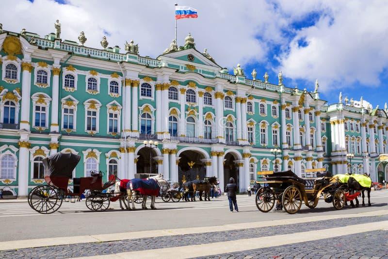 L'ermitage à St Petersburg, Russie photographie stock
