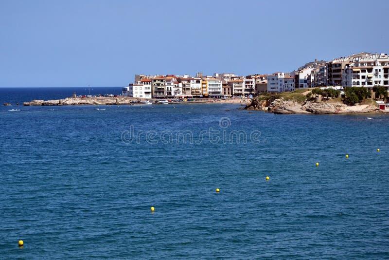 l'Escala w Costa Brava, Catalonia, Hiszpania obrazy stock