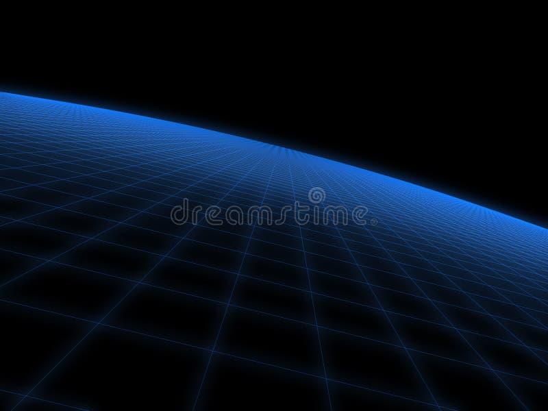 l'espace 3d illustration de vecteur
