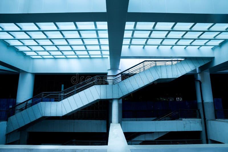 L'espace d'intérieur de Hall photo libre de droits